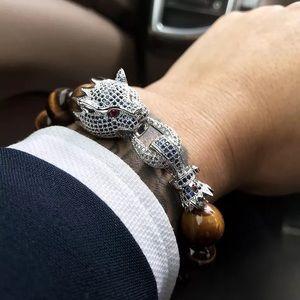 Tiger Eye Stone Bracelet For Men